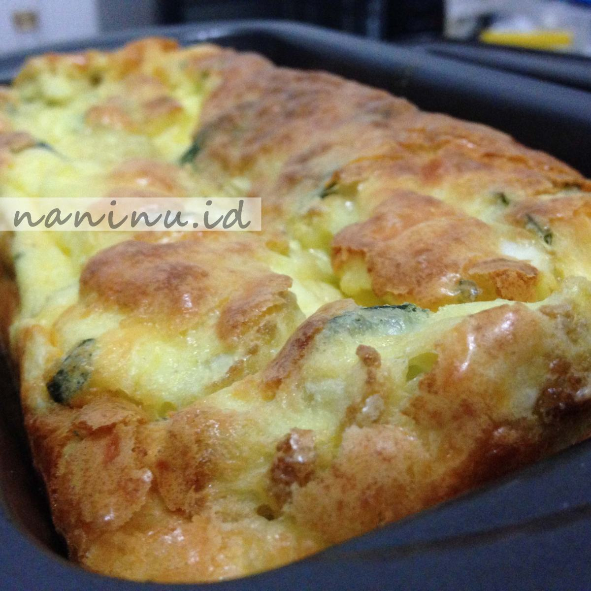Omelet Panggang - (No Pie Quiche)