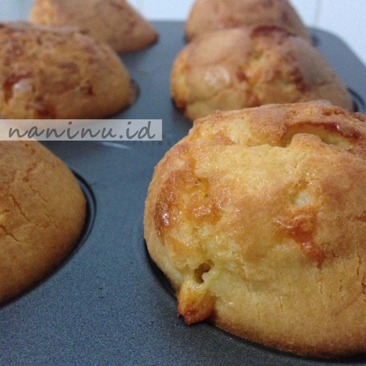 Muffin Keju - No Mixer - Dapur Keto